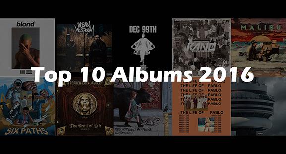 Top 10 Albums of 2016 | YANOS