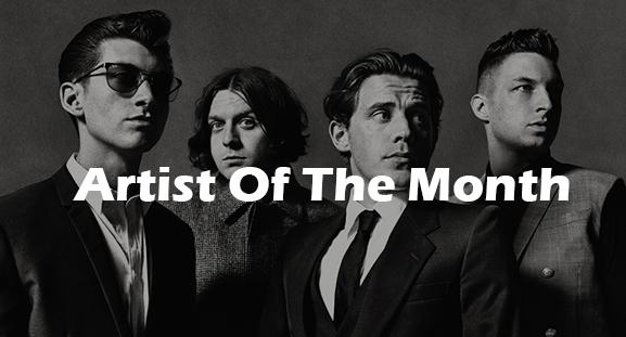 Arctic Monkeys: Artist Of The Month