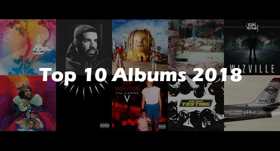 Top 10 Albums Of 2018 | YANOS